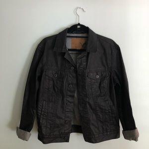 Coated Denim Jacket AE